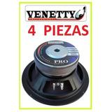 Set 4 Bocina Venetty 8''  250w  95db  73hz-5000hz, Lineales