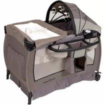 Cuna Corralito Cambiador Mp3 Vibracion Baby Trend Hathaway