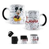 Taza Mágica Mickey Mouse Personalizada