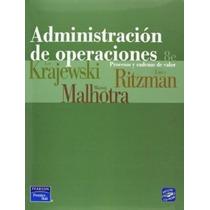 Administracion De Operaciones Krajewski 8 Edicion + Regalo %