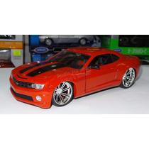 1:24 Chevrolet Camaro Ss 2010 Rojo Jada Display *