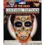 Tatuajes Temporales Disfraz Catrin Altar Tattoos Halloween