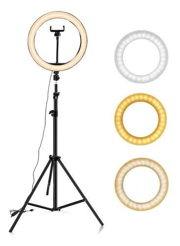 Aro Luz Led Maquillaje Lampara Foto Video Luz Regulable