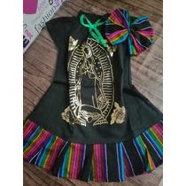 Vestido Batita Virgen De Guadalupe Diadema Envio En
