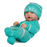 Muñeco Bebé Recién Nacido Prematuro 35cm