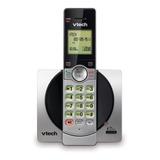 Teléfono Inalámbrico Vtech Cs6919 Negro Y Plateado