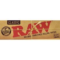 Raw Sin Blanquear Orgánicos 1.25 Tamaño Del Cigarrillo Papel