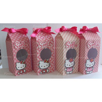 Cajas Dulceros Tipo Lecheras Dulcero Hello Kitty