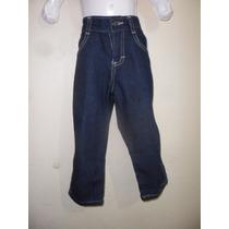 Pantalon Mezclilla Tipo Vaquero Algodon Y Poliester