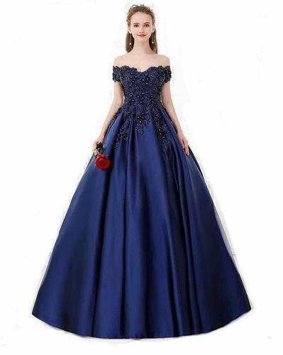 9a2ac1d553 Vestido De Xv 15 Años Quinceañera Azul Marino Importado en venta en Ciudad  Cuauhtémoc Ecatepec de Morelos Estado De México por sólo   6500