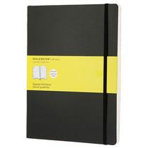 Libreta Extragrande Negra Cuadros Moleskine Cuaderno