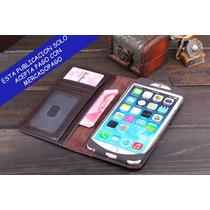Funda Tipo Libro Antiguo Iphone 4 4s 5 5s Y 5c