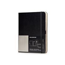Libreta Cover Ipad Air Black+volant Moleskine