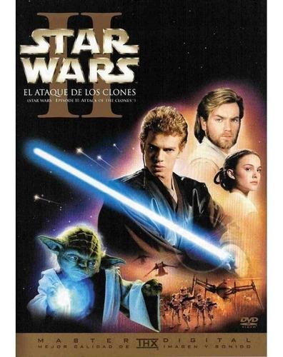 Star Wars Episodio Ii: El Ataque De Los Clones Dvd Película