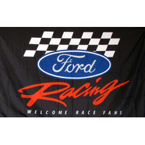 Bandera Ford Racing 1.5por90cm Agencia Club Bares Carreras