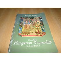 Vendo Libro De Partituras Rapsodias Hungaras Para Piano Solo