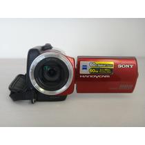 Videocamara Sony Handycam Dcr Sr47 Roja 60gb Memoria Interna