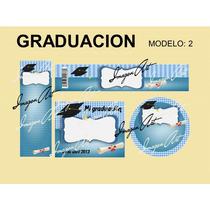 Kit Para Imprimir De Graduación, Invitación, Separador