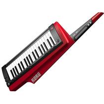 Sintetizador Teclado Guitarra Color Rojo Korg