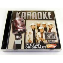 Homero Guerrero Jr Y Los Kdts De Linares Cd Nuevo Karaoke