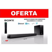 Sony Barra De Sonido 2.1 Canales C/subwoofer Inalambrico 2.1