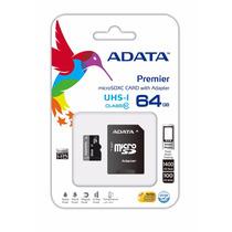 Memoria Micro Sd Hc Uhs-i 64gb Adata Premier Clase 10