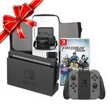 Consola Nintendo Switch + Mochila + Juego Fire Emblem W