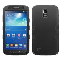 Funda Protector Samsung Galaxy S4 Active I537 Mixto Negro Tr