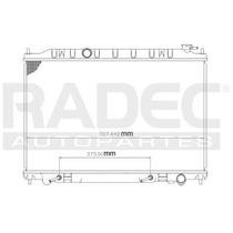 Radiador Nissan Quest 2004-2005-2006 V6 3.5 Lts Automatico