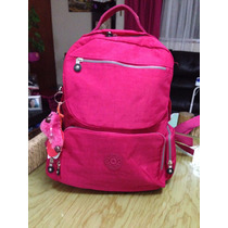 Mochila Backpack Kipling Rosa