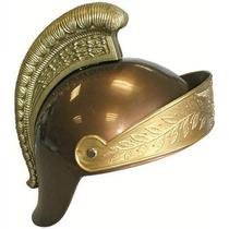 Casco Romano - Plata Y Oro Plástico Del Vestido De Lujo