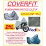 Funda Motocicleta Tela Plastificada Impermeable Envio Gratis