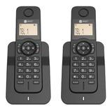 Teléfono Inalámbrico Duo Select Sound 8032 Negro