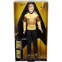 Capitan Kirk Barbie Black Label Collection 50