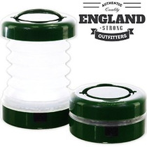 Inglaterra + Led Fuerte Plegable Linterna (2-pack)