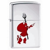 Encendedor Zippo Original Little Cartoon Devil (diablo)