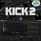 Sonic Academy Kick 2 Windows Mac Vst Au Bombo  Electronica