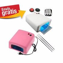 Lampara Uv 36 Watts Para Pegamento Uv, Celular Y Secado Gel