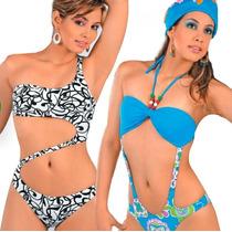 Moldes Patrones Para Fabricar Mallas Trajes De Baño Trikini