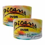 100 Dvd Picasso  Virgen  4.7 Gb 16x Logo Precio Neto Factura