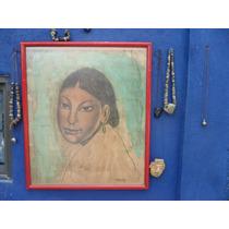 Acuarela Diego Rivera Antigua