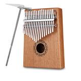 Piano Pulgar Kalimba Madera C/17tonos Instrumento Musical De