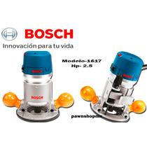 Router Bosch 1617 Motor De 2.5 Hp 25,000 Rpm El Mejor Precio