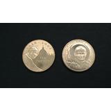Par De Monedas De Polonia Con Imagen Del Papa Juan Pablo Ii
