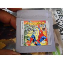 Spiderman 3 Para Su Game Boy Tabique,funcionando,economico.