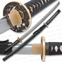 Katana Musashi Gold Ring V2 Filo Maximo Full Tang Hamon Real