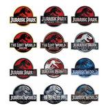 Jurassic Park Parque Jurásico Dinosaurios Parches 12 Parches