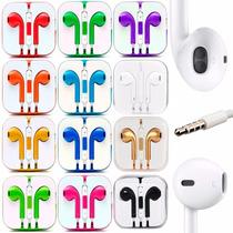 Audífonos Earpods Iphone 4 5 6 Ipod Ipad Control Manos Libre