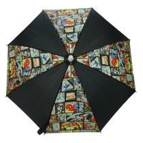 Marvel Paraguas - Impermeable Estupendo Abrir Y Cerrar Plega