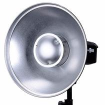 Beauty Dish Godox Plata Con Bracket Para Speedlite